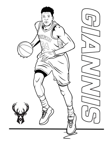 Basketball Teams Coloring Pages GetColoringPages