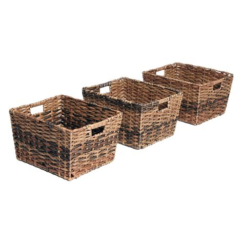Baskets Decorative Storage Wicker Weave Baskets
