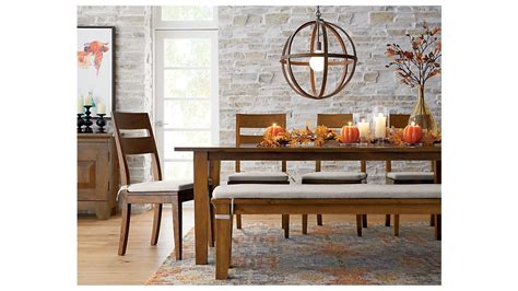 Basque Honey 82 Dining Table Crate and Barrel