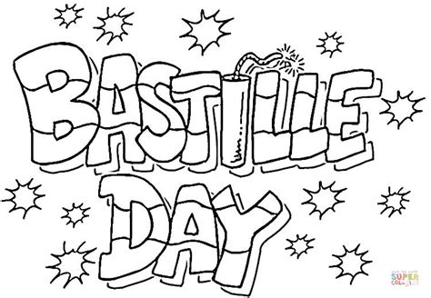 Bastille Day Online Coloring Pages Page 1