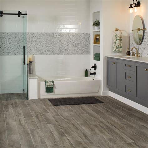 Bath floor Tile Flooring The Home Depot