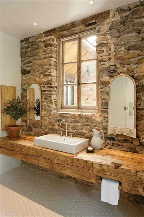 Bathroom Design Ideas Remodeling Pics with Faux Stone