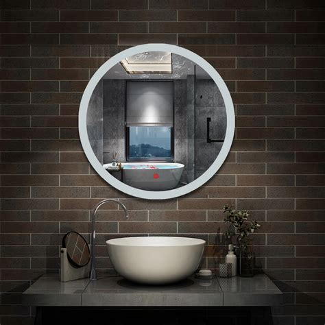 Bathroom Mirrors Round Heated Bathroom Mirrors bathstore