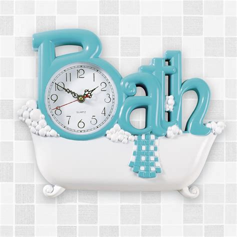 Bathroom Wall Clock from Collections Etc