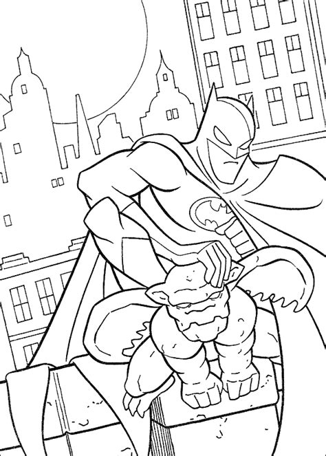 Batman Coloring Pages ColoringBookFun