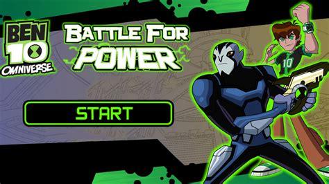 Battle For Power Ben 10 Omniverse Game Cartoon Network