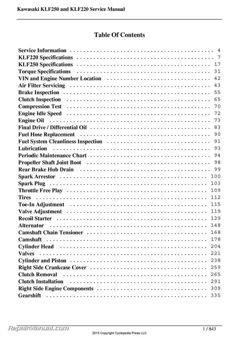 2004 kawasaki bayou 250 wiring diagram images in addition bayou 220 250 klf220 klf250 kawasaki service manual