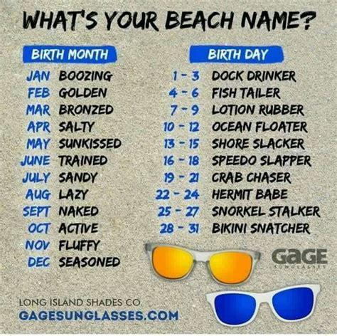 Beach name generator