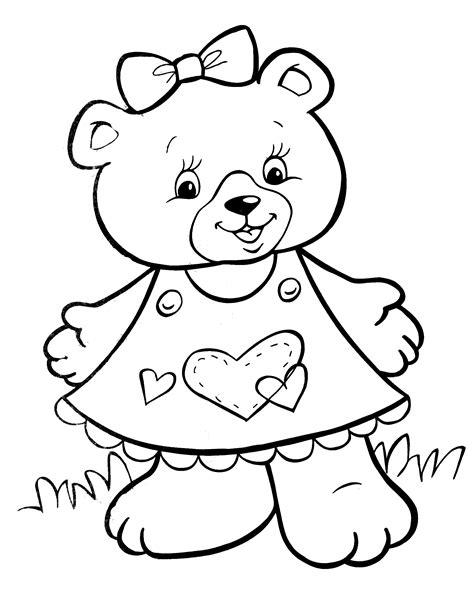 Bear Coloring Page crayola