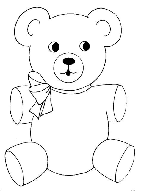 Bear Coloring Pages Coloring Kids