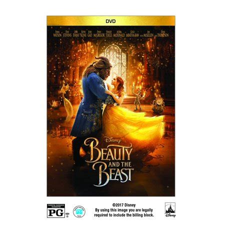 Beauty And The Beast Live Action DVD Walmart