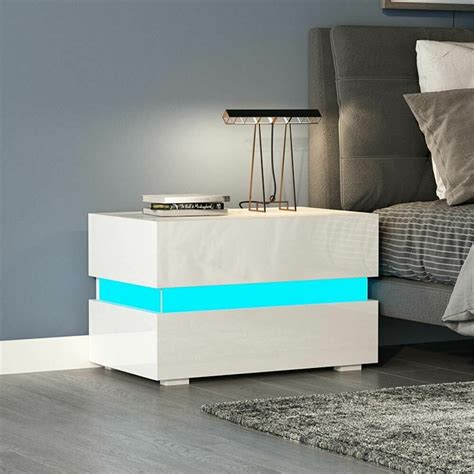 Bedside Tables Cheap Nightstand Black White Bedroom
