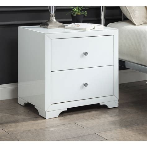 Bedside table white Compare Prices at Nextag