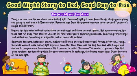 Bedtime Stories Short Stories for Kids Online