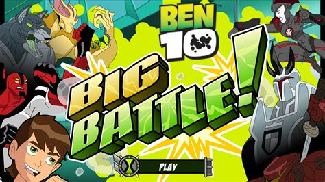 Ben 10 Battle for Power Free Play Games