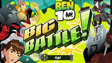 Ben 10 Big Battle Play Free Super Hero s Games Online