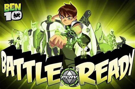 Ben 10 Games BATTLE READY Cartoon Network Canada