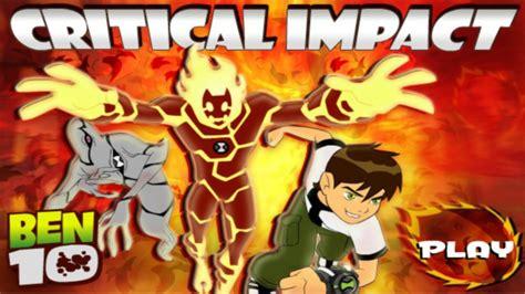 Ben 10 Games Critical Impact Cartoon Network