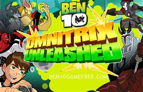 Ben 10 Games Play Ben 10 Omnitrix Unleashed Game Online