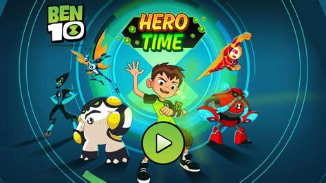 Ben 10 It s Hero Time Cartoon Network currentMetaTitle