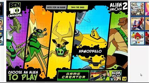 Ben 10 Omniverse Alien Unlock 2 Game Ben 10 Games