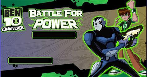 Ben 10 Omniverse Battle For Power Game Play Online