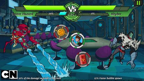Ben 10 Omniverse Battle For Power Games to Play