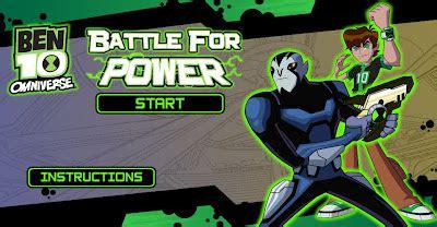 Ben 10 Omniverse Battle for Power at Gameshero Play