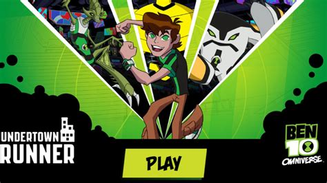 Ben 10 Omniverse Games cartoonnetworkhq
