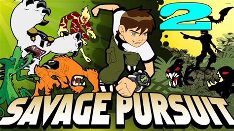 Ben 10 Savage Pursuit Game 211games