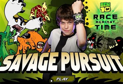 Ben 10 Savage Pursuit Play The Game Free Games Online