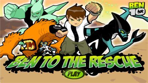 Ben to the Rescue Free Ben 10 Games Cartoon Network