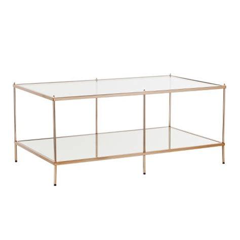 Benton Coffee Table Metallic gold Aiden Lane Target