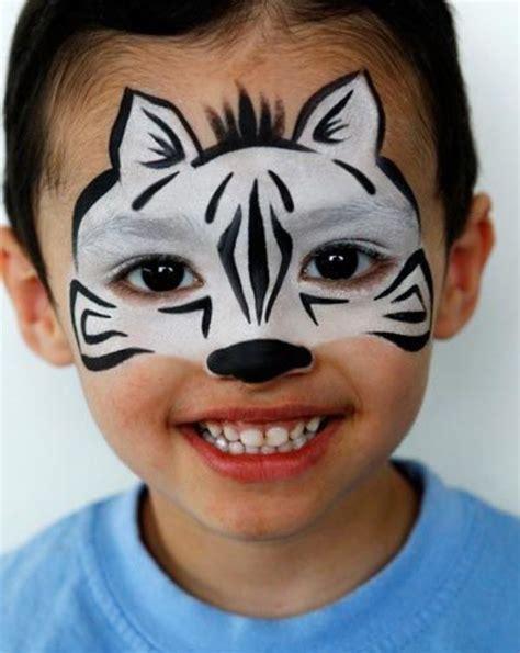 Best 10 Cool face paint ideas on Pinterest Black face