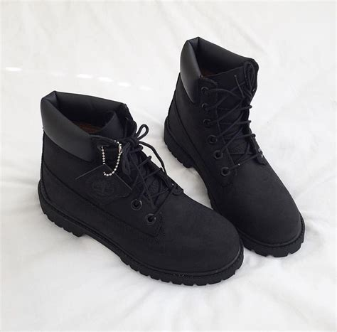 Best 25 All black timberland boots ideas on Pinterest