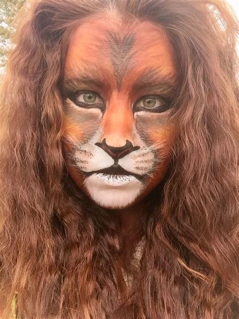 Best 25 Lion face paint ideas on Pinterest Lion makeup