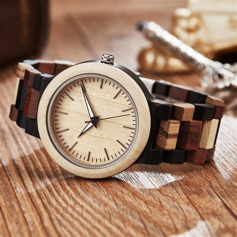 Best Cheap Mens Wooden Wrist Watches Apachepine