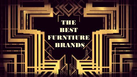 Best Furniture Brands An Insider Guide to Buying