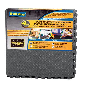 Best Step Anti Fatigue Flooring Interlocking Mats 4 pack