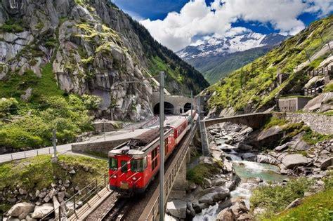 Best Train Trip Through Europe Switzerland Italy
