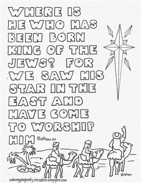 Bible Printables Bible Coloring Pages Christmas
