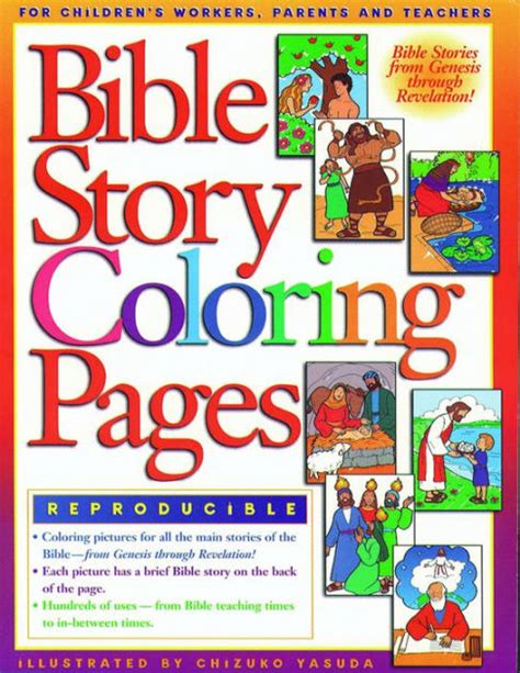 Bible Story Coloring Pages 2 by Gospel Light Coloring