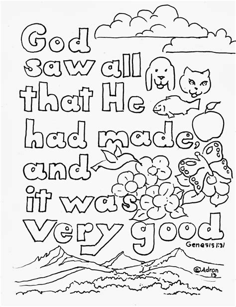 Bible Verse Coloring Pages A Kid s Heart