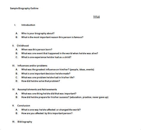 summary essay outline