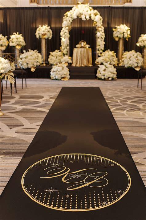 Black Aisle Runner Black Wedding Aisle Runner