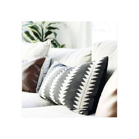 Black Global Oversized Lumbar Throw Pillow 27 X15