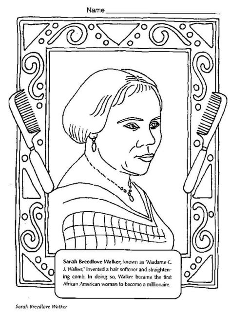 Black History Coloring Pages Free Printables A 60134