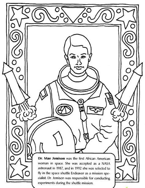 Black History Coloring Pages Free and Printable