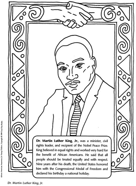 Black History Month Coloring Pages fablesfromthefriends