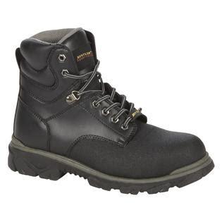 Black Men s Boots Steel Toe Kmart